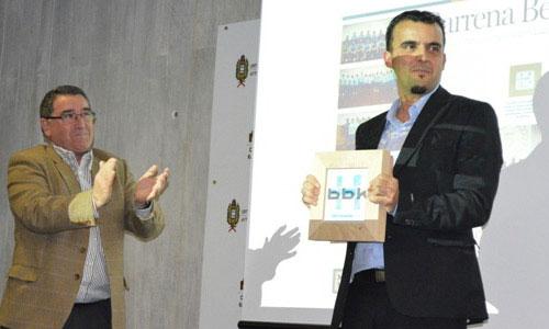 Presidente Barrena Berri en premios Hemendik