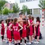 Equipo Femenino con su entrenadora
